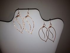 Jewelry Earrings Wire Wrapped Fall by IntricateWireDesigns on Etsy, $10.00