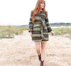 Textured Cardigan [knitting pattern] |Gina Michele