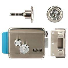 Especificaciones: puede adaptarse tanto zurdos y diestros puerta (por rotación el modo de funcionamiento seguro de bloqueo 180°), no (abierto cuando Powered) no puede conectar directamente al aire libre cámara de video teléfono de puerta y abrir la puerta...