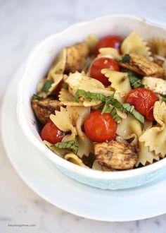 Balsamic chicken caprese pasta I Heart Nap Time | I Heart Nap Time - Easy recipes, DIY crafts, Homemaking
