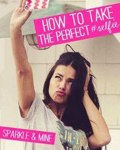 Tips tricks for taking the perfect selfie! This post seriously breaks down everything from how to get the perfect lighting and angle to what the best apps are for editing! If you don't like selfies, maybe you will reconsider now :) Good Selfie Captions, Funny Selfie, Funny Captions, Smartphone Fotografie, Beauty Hacks That Actually Work, Selfie Quotes, Funny Quotes, Best Selfies, How To Pose