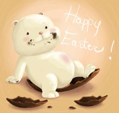 Happy Easter DA by FairyWorld84.deviantart.com on @DeviantArt