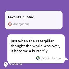 Favorite quote?