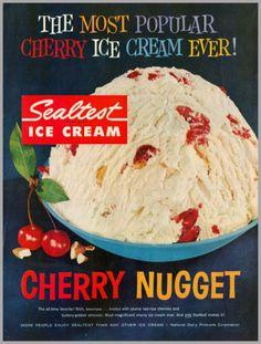 1960's vintage ad for Sealtest Ice Cream