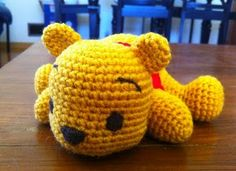 2000 Free Amigurumi Patterns: Free Pooh Bear crochet pattern