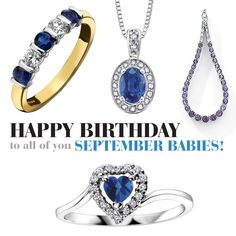 Happy birthday to all you September babies!