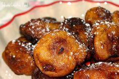 Buñuelos de Cambur.  *Puedes descargarte esta receta directamente desde el blog*