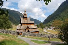 Hopperstad Stave Church, Balestrand, Norway from the rick travel site.  He also does tours.