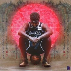 Nba Kings, Nba Quotes, Basketball Art, Brooklyn Nets, Kyrie Irving, Kung Fu, Happy Holidays, Photoshop, Graphic Design