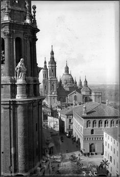 Big Ben, Building, Travel, Zaragoza, Old Pictures, Computer File, Culture, Sports, Buildings