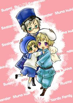 Sufin + sea family