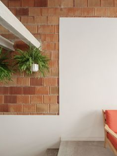Gallery of 1819_HY House / ABrito Architects - 10 Low Cost Housing, Small Courtyards, Ground Floor, Floating Shelves, Brick, Flooring, Architecture, Gallery, House