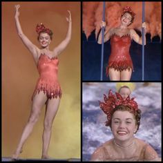 Esther Williams in Million Dollar Mermaid Old Hollywood Glamour, Vintage Hollywood, Classic Hollywood, Esther Williams Swimwear, Ester Williams, The Great Ziegfeld, Million Dollar Mermaid, Glamour Photo, Fifties Fashion