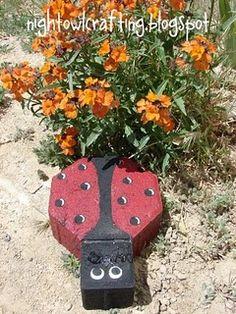 Ladybug paver