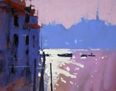 D'Art Gallery | Contemporary British Art Tony Allain back in the UK!! Rialto 25cm x 20cm Chalk pastels£475 Own Art £47.50 Back to list