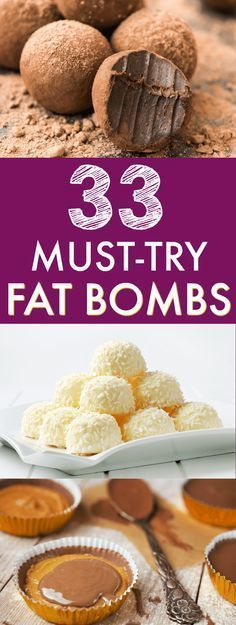 If you want to boost your fat intake on a keto diet or low carb diet, fat bombs are a great way to do it! In this post, I've compiled 33 droolworthy keto fat bombs recipes for you to try.