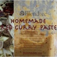 Homemade Red Curry Paste from @PaleoParents
