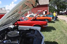 The Nebraska Rod & Custom Car Show is this Saturday from Noon - 4! Is it a car show? Is it a great day in Railroad Town? It's both! More info is up at stuhrmuseum.org.