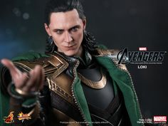 Loki Avengers action figure - damn, they are getting tons better at making them look like the actual actor. Unless this is just a 'shop. Confirmations?