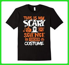 Mens Science Teacher Halloween Costume Funny T-Shirt 2XL Black - Careers professions shirts (*Amazon Partner-Link)