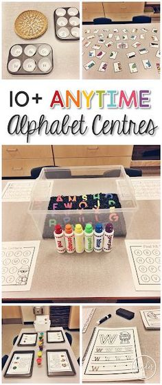 10+ Anytime Alphabet Centres | A Pinch of Kinder | Bloglovin'