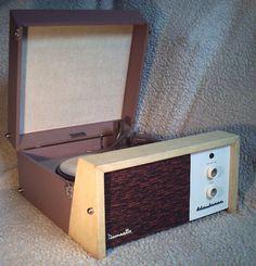 Fully serviced 1960s Dansette Challenge record player on eBay