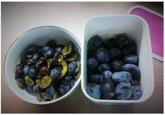 Švestkový koláč s marcipánem Blueberry, Fruit, Food, Berry, Essen, Meals, Yemek, Blueberries, Eten
