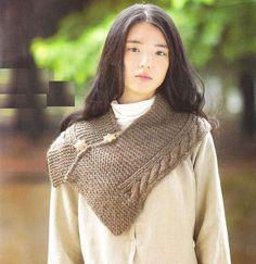 Genç Kız El Örgü Yelek Modelleri (15)