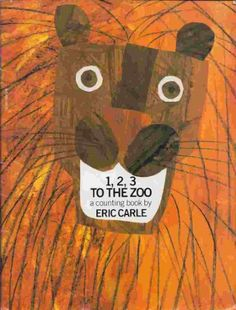 A review and some ideas on how to use 1, 2, 3 to the Zoo by Eric Carle at The Library Adventure