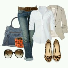 Cute: Make it CAbi with the Comet Tapered Boyfriend Jeans, the Chic Shirt and the Ryder Jacket!