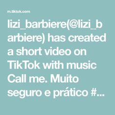 lizi_barbiere(@lizi_barbiere) has created a short video on TikTok with music Call me. Muito seguro e prático #dicaboaedicacomparlihada #docedeleite #docenapaneladepressao #receitafacil Call Me, Music, Dulce De Leche, Easy Trifle Recipe, Recipes, Musica, Musik, Muziek, Music Activities