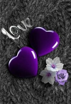 Love wallpaper by mirapav - 10 - Free on ZEDGE™ Heart Wallpaper, Love Wallpaper, Colorful Wallpaper, Cellphone Wallpaper, Bubbles Wallpaper, Wallpaper Quotes, Purple Love, All Things Purple, Shades Of Purple
