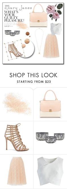 """""""Mary Jane 🌸"""" by lydia-tannasee ❤ liked on Polyvore featuring Eve Lom, Lumière, Gianvito Rossi, Bailey 44, Chicwish and Dorothy Perkins"""