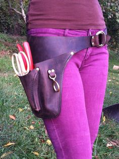 Garden Tool Belt for the Farmer/Florist by WheelerMunroe on Etsy