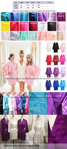 I found some amazing stuff, open it to learn more! Don't wait:https://m.dhgate.com/product/long-cheap-bridesmaid-and-bride-robes-silk/386327388.html