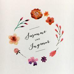 Bohowedding flower power! Mehr unter http://www.carte-royale.com/Hochzeit/Hochzeitskarten-Sets/Weingut/k/1_99_144
