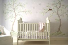 Classic Lavender Chinoiserie Nursery