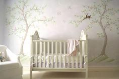 Classic Lavender Chinoiserie Nursery