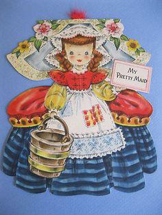 My Pretty Maid PD card, Hallmark_1947
