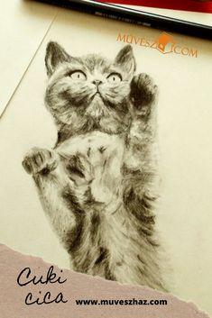 Cuki állatok - Cukiii cica rajz!! >> Animals, Animales, Animaux, Animal, Animais