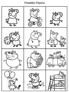 Pro Šíšu: Pexesa - omalovanky Peppa Pig is usually a Uk toddler animated tv set Peppa Pig Coloring Pages, Colouring Pages, Coloring Books, My Little Pony Drawing, Drawing For Kids, Peppa Pig Merchandise, Peppa Pig Drawing, Rebecca Rabbit, Cumple Peppa Pig