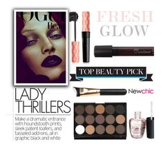 """NEWCHIC//24"" by tamarasimic ❤ liked on Polyvore featuring beauty, polyvorecommunity and polyvoreeditorial"