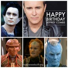 Wow didn't know this was same actor --yup a very versatile character actor Star Trek Data, Star Trek 1, Star Trek Series, Star Trek Enterprise, Star Trek Voyager, Deep Space 9, Star Trek Images, Star Trek Universe, Marvel Universe