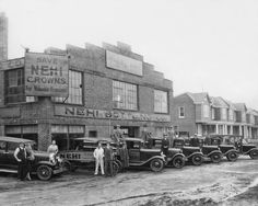 Nehi Soda Bottling Company1935 Vintage 8x10 Reprint Of Old Photo