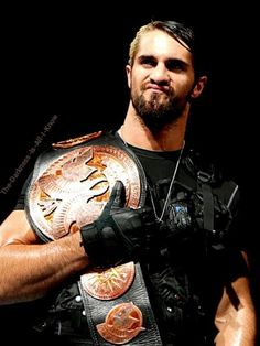 Seth Rollins is the coolest dude ive ever sceene love the blonde in his hair awesome mix between colors