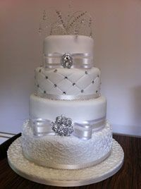 My Daughter Amp Son In Law S Wedding Cake From Walmart 48 00