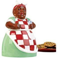 aunt jemima kitchen decor | Aunt Jemima Deluxe Cookie Jar , 89976