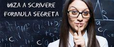 La formula segreta delle 3 C per iniziare a scrivere