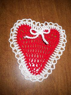 Crochet Galore: Sweet Heart Pattern