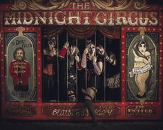 The Midnight Circus Creepy Circus, Halloween Circus, Creepy Carnival, Creepy Clown, Halloween Themes, Scary, Dark Circus, Circus Art, Circus Theme